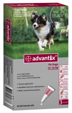 ADVANTIX DOG LARGE RED 3'S Claws n Paws Pet Supplies