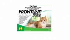 FRONTLINE PLUS CAT GREEN 3'S Claws n Paws Pet Supplies