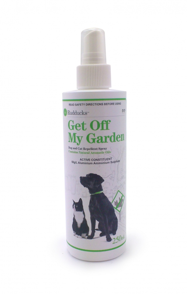 Multicrop keep off dog and cat repellent spray