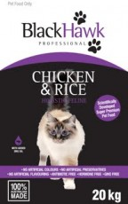 BlackHawk Chicken and Rice Cat 20kg Claws n Paws Pet Supplies