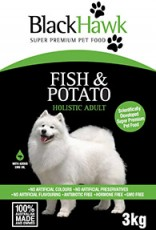 BlackHawk FIsh and Potato 3kg Claws n Paws Pet Supplies