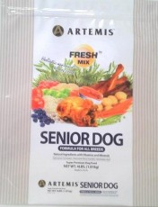 Artemis Fresh Mix Senior Dog Formula