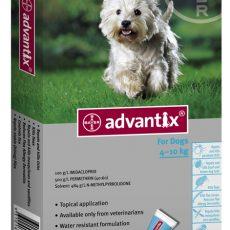 ADVANTIX DOG MEDIUM BLUE 6'S Claws n Paws Pet Supplies