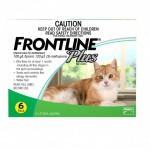 FRONTLINE PLUS CAT  GREEN   6'S