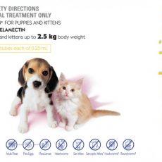 Revolution Cat 3pk Claws n Paws Pet Supplies