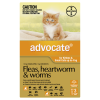Advocate For Cats up to 4kg - 3 Pack