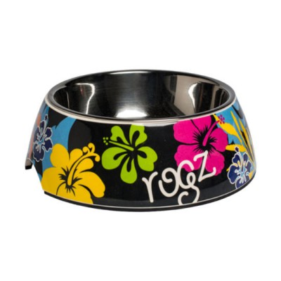 Dogs-Bowls-Bubble-Bowl-BU-DayGlo-Floral-400x400