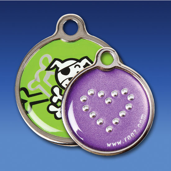 Rogz ID Tag Metal Glory Claws n Paws Pet Supplies