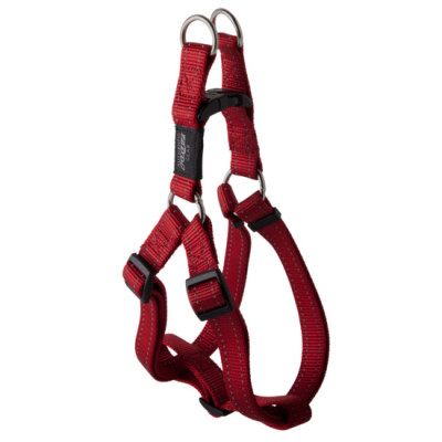 Rogz Stepin Harness Reflective Red Claws n Paws Pet Supplies