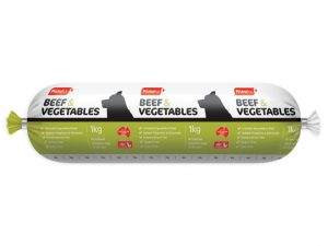 Prime100 Beef and Vegetables 2kg Dog Roll