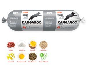 Prime 100 Kangaroo and Potato 2kg Dog Roll