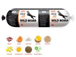 Prime100 Wild Boar and Pumpkin 2kg Dog Roll
