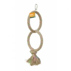 Birdie Parrot Ring Double 16cm