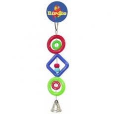 Birdie Rings Beads & Bell Small